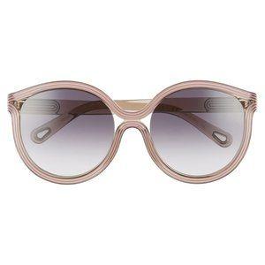 Chloe 57mm Modified Cat Eye Sunglasses